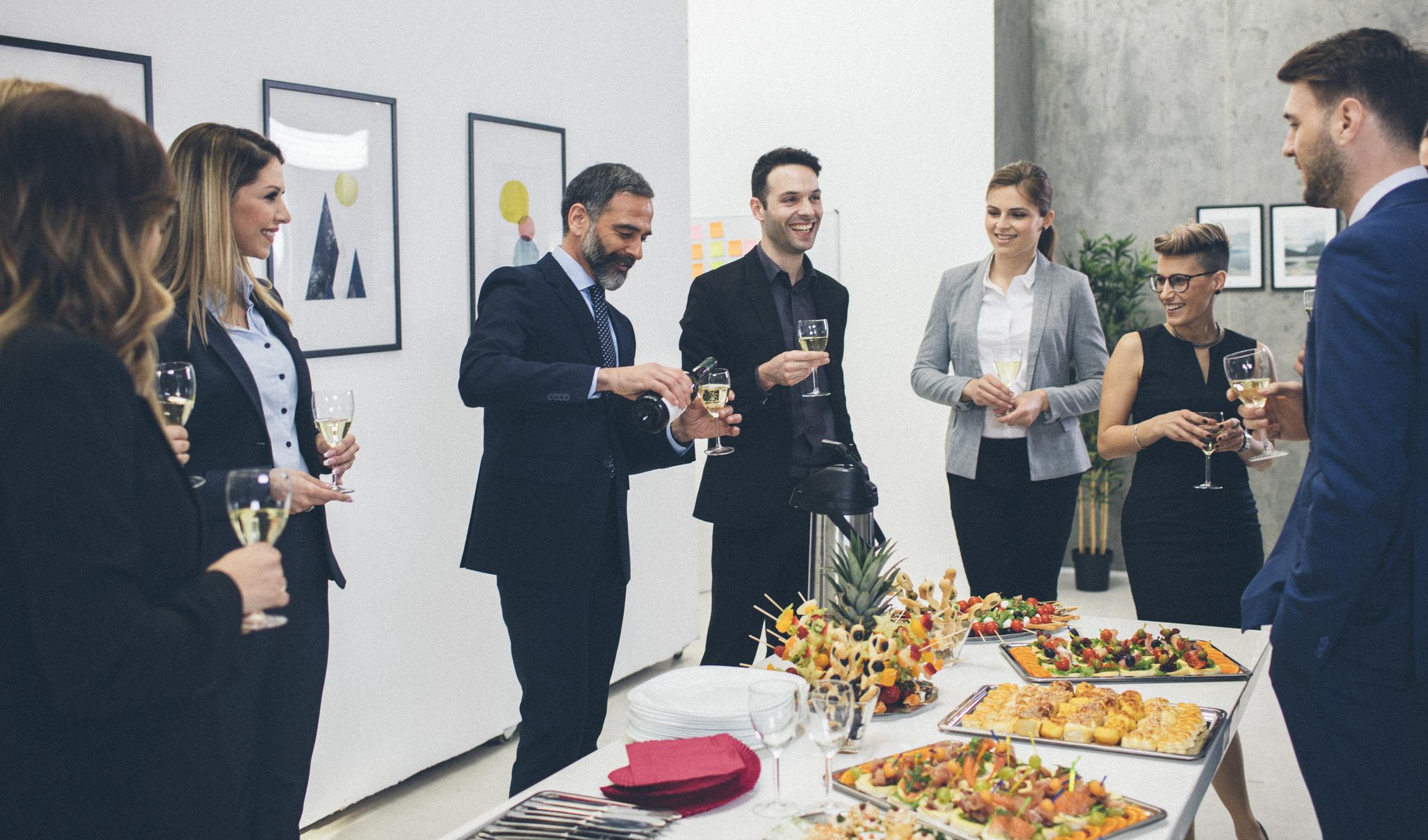 business-buffet-people-conversing