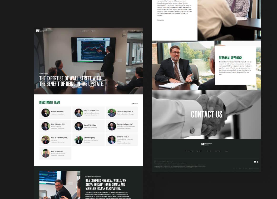 greenwood-capital-website-overview
