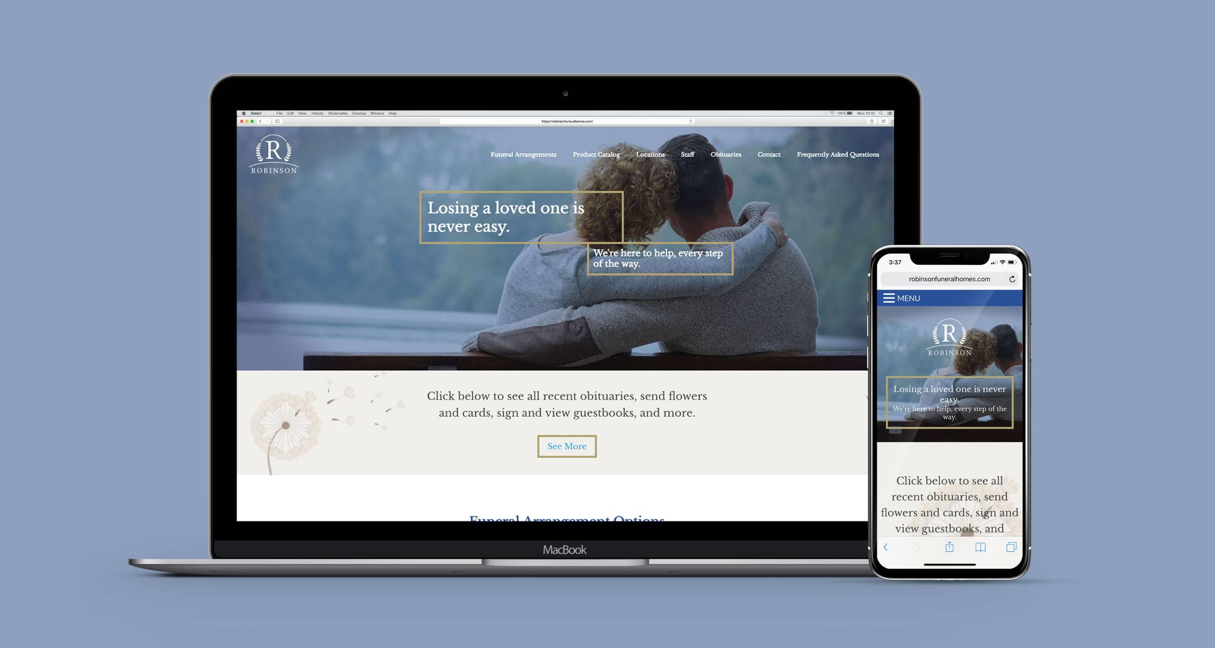 robinson-funeral-homes-website-desktop-mobile