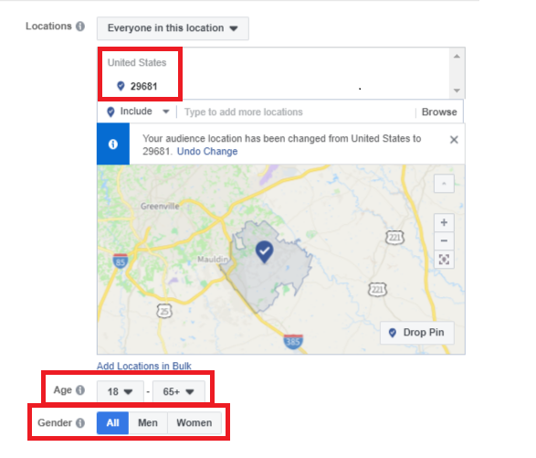 Facebook HEC Targeting | Infinity Marketing