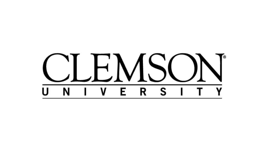 clemson-university--bnw logo