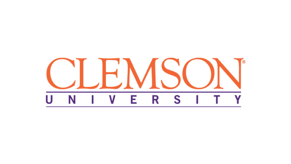 clemson university colored logo