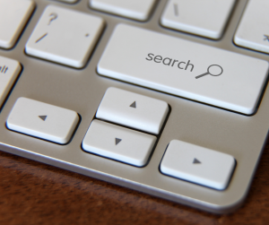 search button on a keyboard